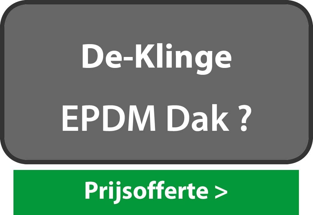 EPDM De Klinge