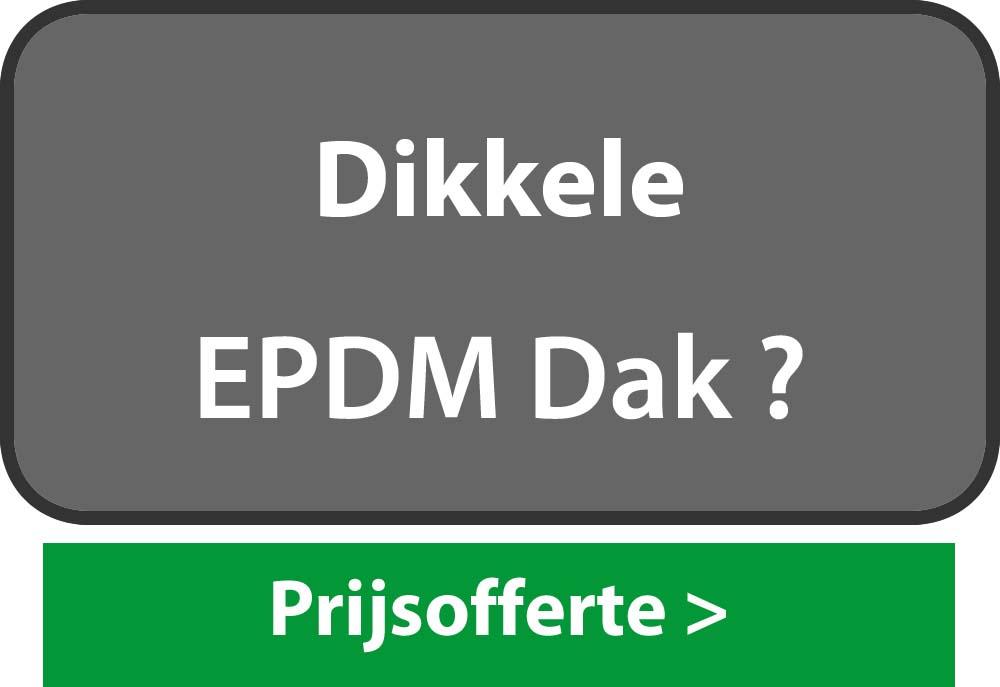 EPDM Dikkele