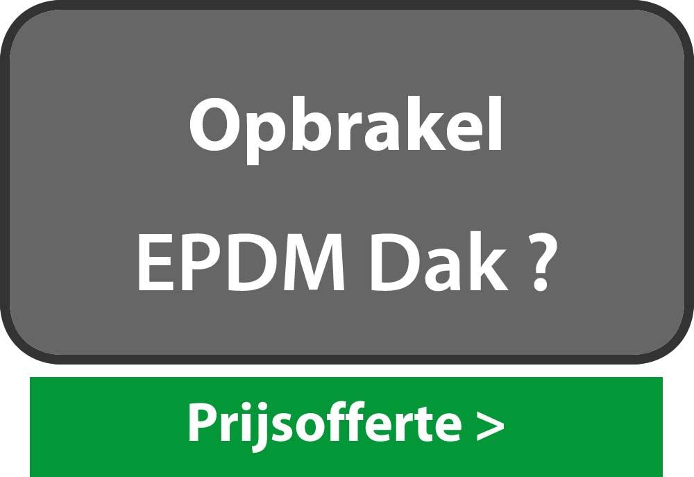 EPDM Opbrakel